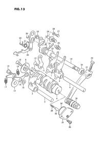 Suzuki PV vaihdelaatikon räyäytyskuva, korjattu.