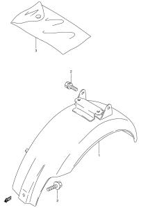 Suzuki PV lokasuojien räjäytyskuva 2