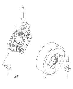 Suzuki PV magneeton räjäytyskuva 2