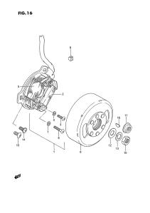 Suzuki PV magneeton räjäytyskuva 3