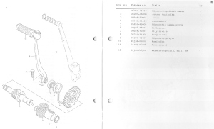 Suzuki PV moottori_varaosaluettelo_15-16