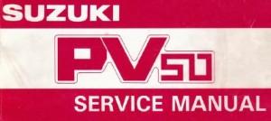 Suzuki PV Service Manual (PDF)