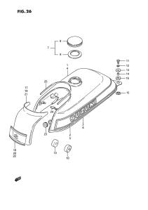 Suzuki PV tankin räjäytyskuva 2