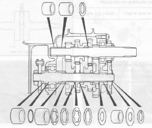 Suzuki PV vaihteiston räjäytyskuva_2