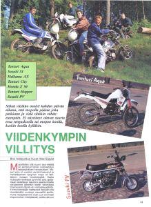 Suzuki PV artikkeli Bike 1991_1