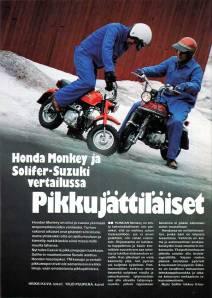 Suzuki PV artikkeli Tekniikan Maailma 4/1981 #1