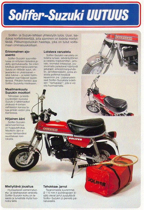 Suzuki PV mainoksia ja artikkeleita (3/6)