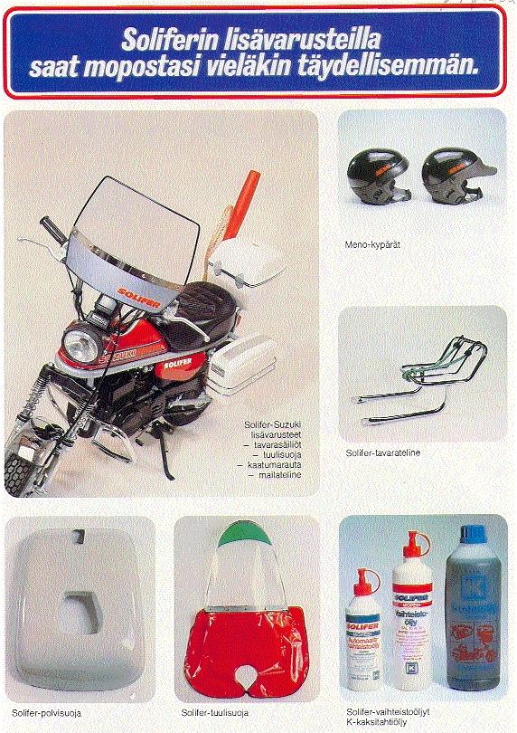 Suzuki PV mainoksia ja artikkeleita (2/6)
