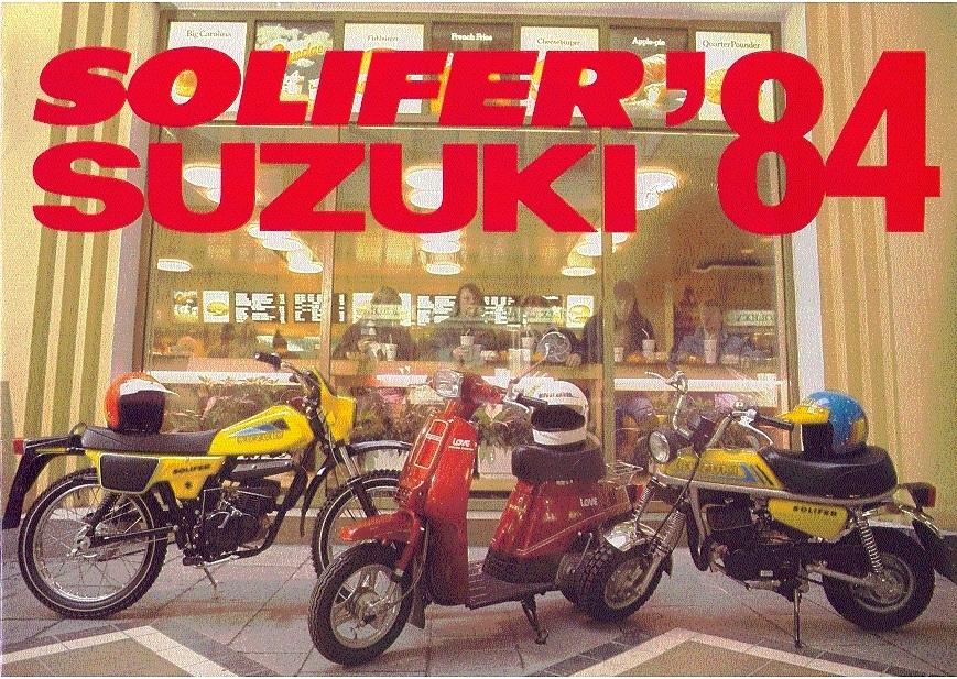 Suzuki PV mainoksia ja artikkeleita (5/6)