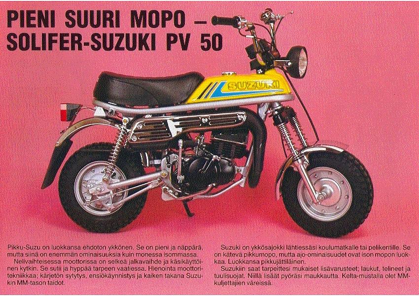 Suzuki PV mainoksia ja artikkeleita (6/6)