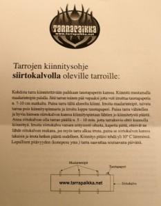 Tarrojen kiinnitysohje siirtokalvoilla oleville tarroille (Tarrapaikka.net)