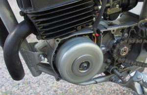 Pyörityskoe ilman magneeton koppaa.