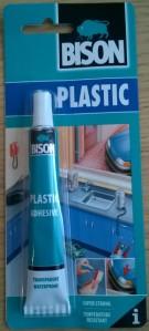 Bison läpinäkyvä ja luja muoviliima