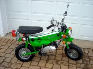 Suzuki Trailhopper 1973