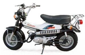 Suzuki RV50 S VanVan 1982